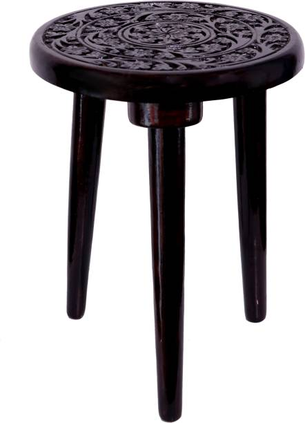 ANM mango Wooden good quality Finish Stool coffee color pack of 1 Stool