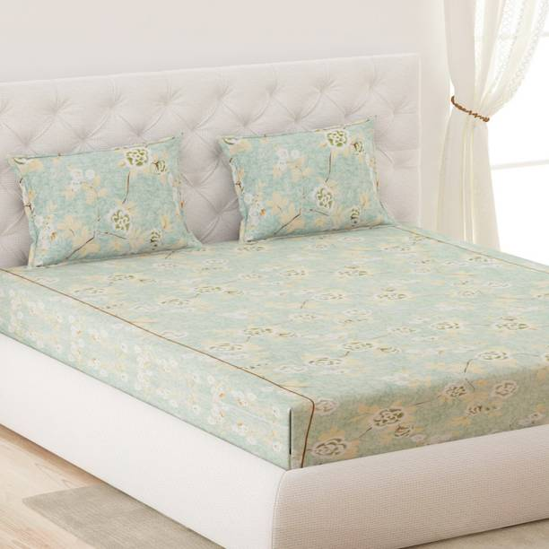 Moca by Monte Carlo 120 TC Cotton Double Printed Bedsheet