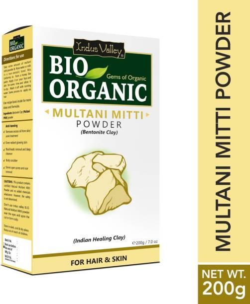 Indus Valley Bio Believe in Organic Multani Mitti Powder (Bentonite Clay)