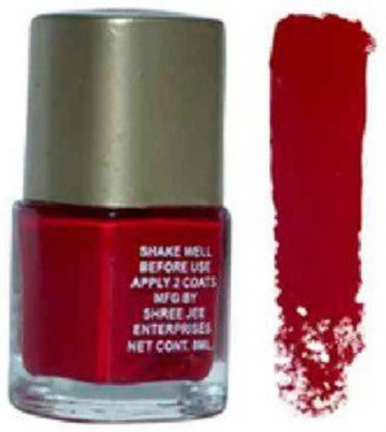 PreetBeauty Nail Paint Super Shine Nail Polish RED