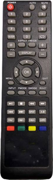 Electvision Remote Control for LED or LCD TV Compatible with Vu /BPL (Please Match The Image with Your Existing Remote Before Placing The Order Before) VU / BPL Led LCD tv. Remote Controller