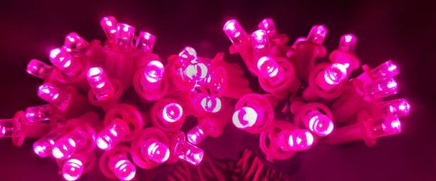 A.S.D. Electronics 336 inch Pink Rice Lights