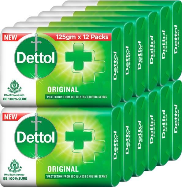 Dettol Bathing Bar Soap, Original