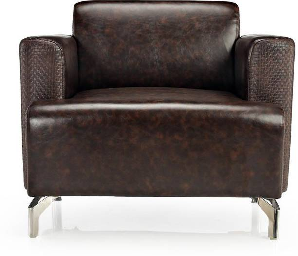 Durian WINDSOR/B/1 Leatherette 1 Seater  Sofa