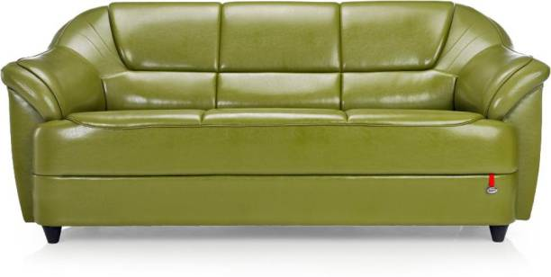 Durian BERRY/55001/I/3 Leatherette 3 Seater  Sofa