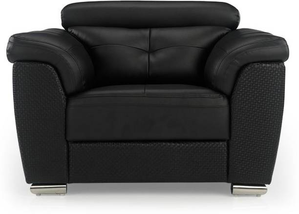 Durian CHARLES/D/1 Leatherette 1 Seater  Sofa