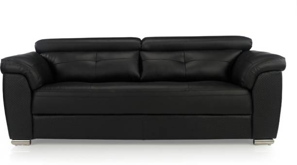Durian CHARLES/D/3 Leatherette 3 Seater  Sofa