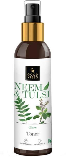 GOOD VIBES Tulsi and Neem Glow Toner Women