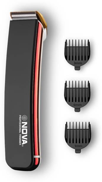 NOVA NHT 1049/00 Titanium coated  Runtime: 30 min Trimmer for Men
