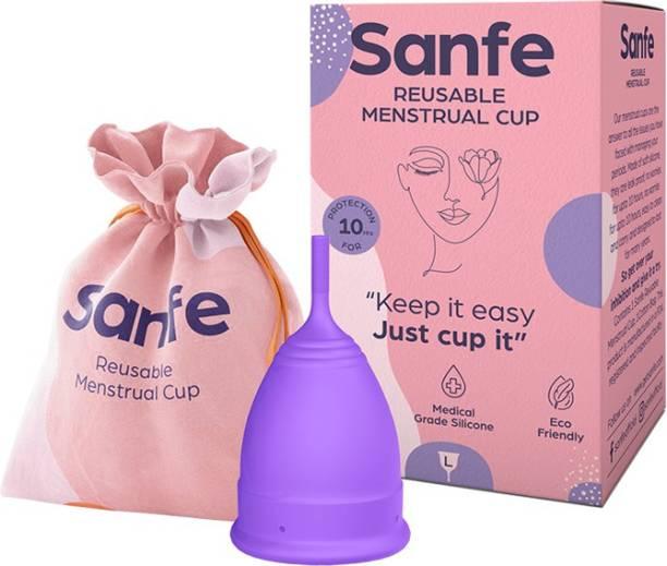 Sanfe Large Reusable Menstrual Cup