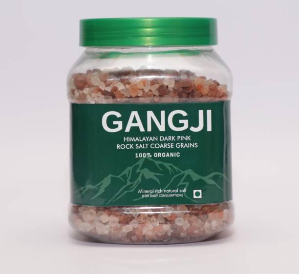 Gangji Himalayan Dark Pink Rock Salt Coarse Grain (1Kg) Himalayan Pink Salt