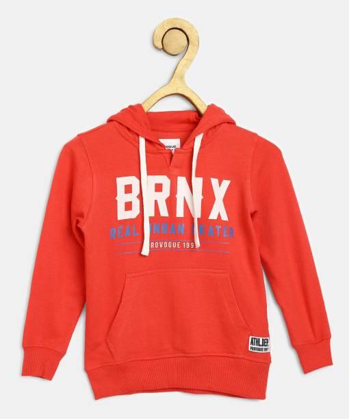PROVOGUE Full Sleeve Printed Boys Sweatshirt