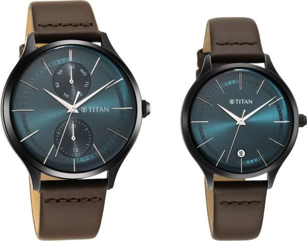 Titan Bandhan Analog Watch  - For Couple
