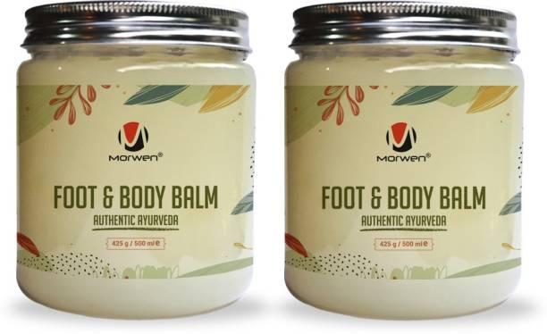 MORWEN FOOT & BODY BALM, Authentic Ayurveda, Foot Reflexology, Pain Relief Body Balm