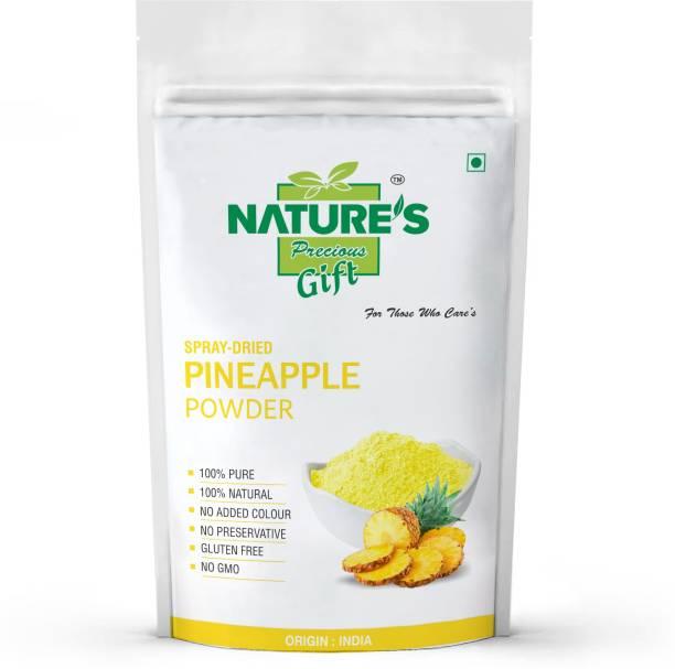 Nature's Precious Gift Pineapple Powder - 2 kg (1kg x 2 Pack)