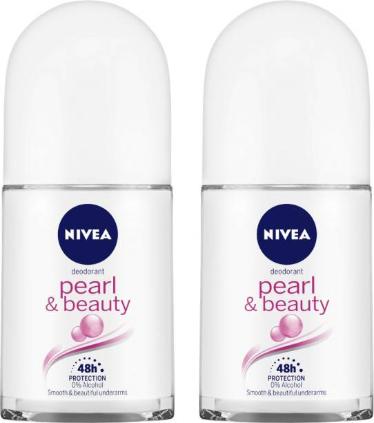 NIVEA PEARL AND BEAUTY Deodorant Roll-on  -  For Women