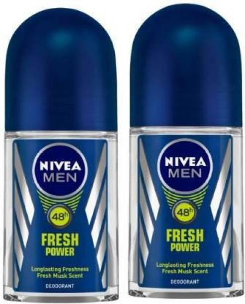 NIVEA Fresh Power Deodorant Roll-on  -  For Men
