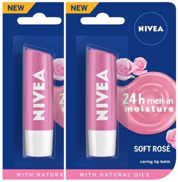 NIVEA Soft Rose Lip Care Balm Rose