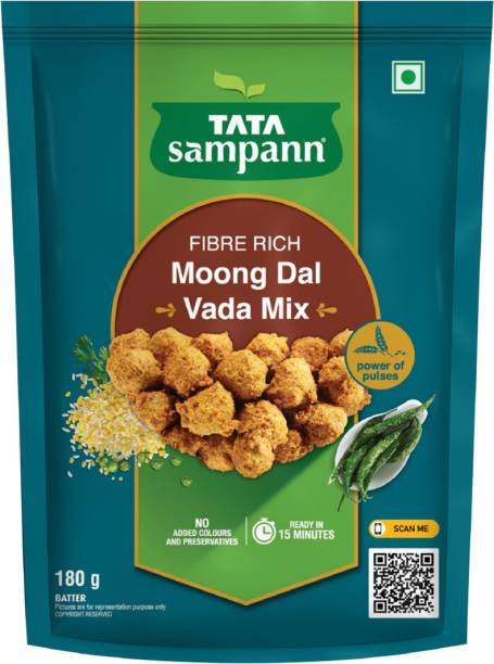 Tata Sampann Fibre Rich Moong Dal Pakoda/Vada Mix 180 g