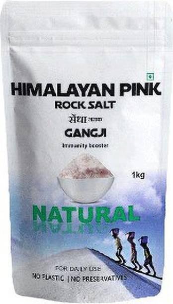 Gangji Himalayan Pink Rock Salt (1Kg) Immunity Booster Himalayan Rock Salt