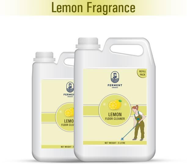 FERMENT Lemon Floor Cleaner Liquid 10 Liter (5Ltr+5Ltr) Combo Pack 2 Lemon