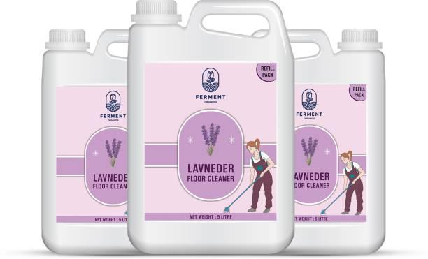 FERMENT Lavender Floor Cleaner 15 Liter (5Ltr+5Ltr+5Ltr) Combo Pack 3 Lavender