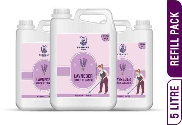 FERMENT Lavender Floor Cleaners 15 Liter (5Ltr+5Ltr+5Ltr) Combo Pack 3 Lavender