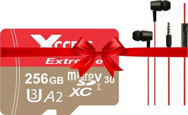 XCCESS 256GB Memory card 256 GB MicroSD Card Class 10 120 MB/s  Memory Card