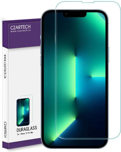 CZARTECH Tempered Glass Guard for Apple iPhone 13 Pro Max