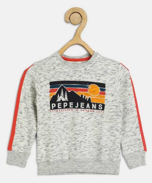 Pepe Jeans Full Sleeve Graphic Print Boys Sweatshirt