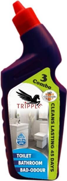 Tripple Red single toilet cleaner Floral Gel Toilet Cleaner