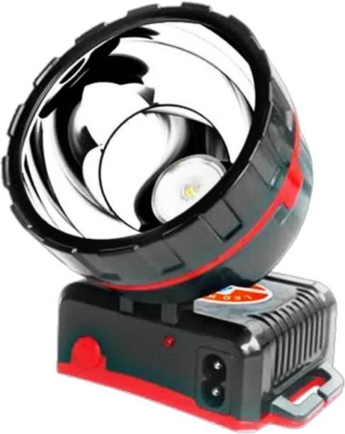 DPM LONG RANG RECHARGEABLE HEAD LAMP (50W LED )CHIP ELASTIC DESIGN KAREN REGULATOR DESIGN BRIGHTNESS ADJUSTMENT 72MM REFLECTOR HEAD LIGHT 150 LUMENS Battery Capacity: 4000mAh (WATERPROOF) Torch Emergency Light