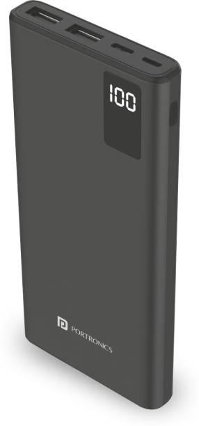 Portronics 10000 mAh Power Bank (18 W, Fast Charging)