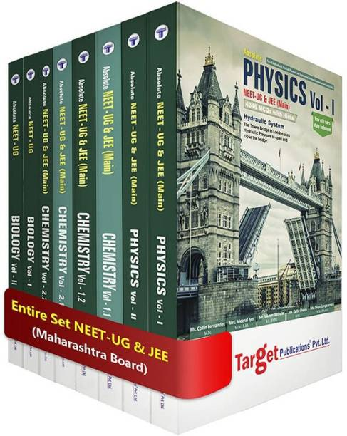 NEET UG Absolute PCB Books Combo For 2020 Medical Entrance Exam | Chapterwise MCQs With Solutions | Topicwise Tests For Practice | Physics, Chemistry And Biology | 8 Books