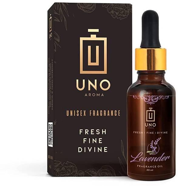 UNO AROMA Lavender Essential Oil, 100% Natural, Pure & Undiluted Aroma Oil