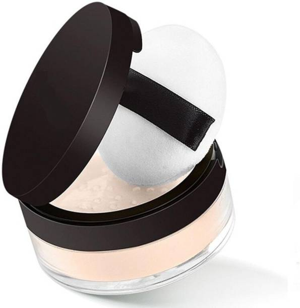 imelda Makeup Finish Loose Powder, Oil Control Long Lasting Moisturizing Makeup Setting Powder Compact