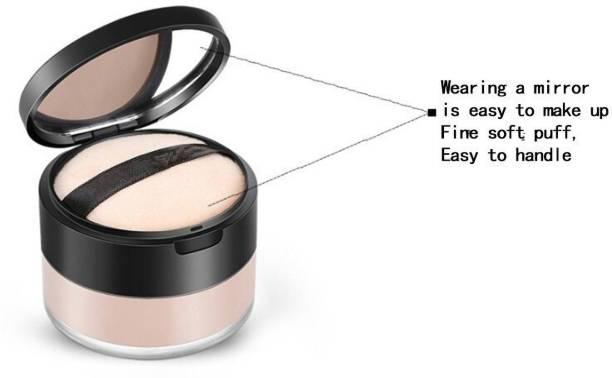 imelda Perfect Control oil & brighten skin color invisible pores mineral loose powder Compact