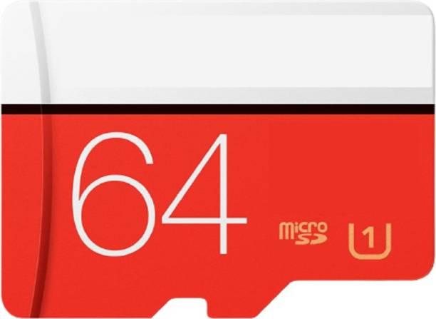 gsnr Plus 64 GB MicroSDXC Class 10 100 MB/s  Memory Card