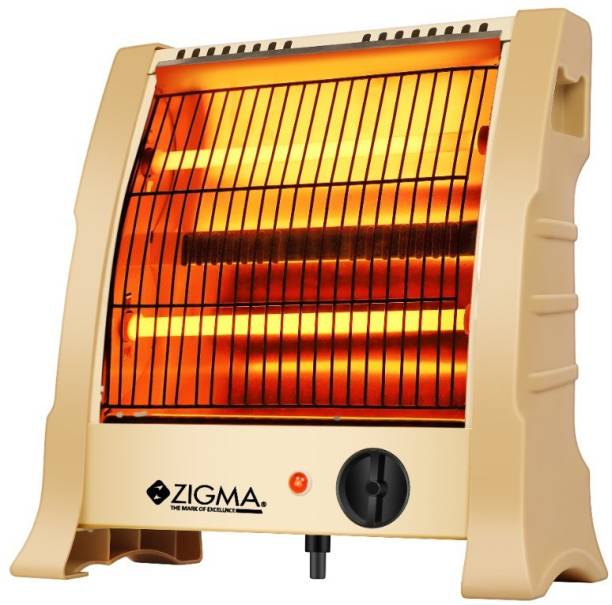 zigma Duo InstaHot ISI Certified Quiet Performance Quartz Room Heater