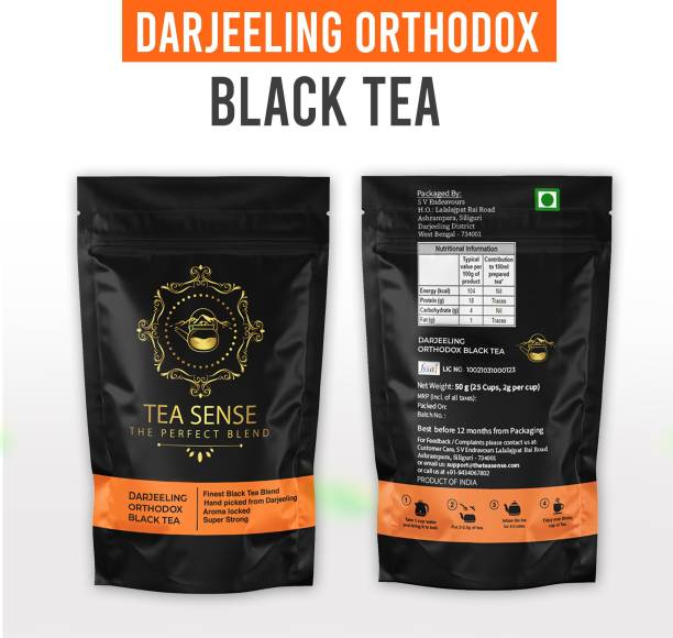 Tea Sense BLACK50 Black Tea Pouch