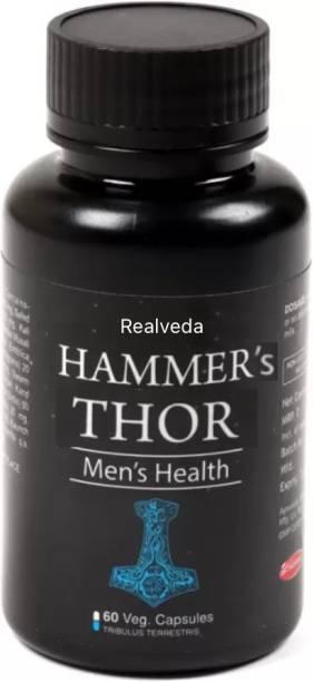 realveda hammer's thor capsules for Men