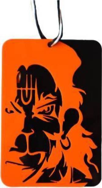goshop Lord Hanuman / Bajrang Bali Pendent for Car interior Hanging ornament / Home Decor / Door Hanging / Temple / Office Desk Car Hanging Ornament (Pack of 1) Car Hanging Ornament