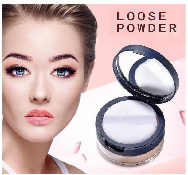 imelda 100% PURE LONG LASTING MAKEUP MINERAL FINE WATER PROOF & OIL CONTROL LOOSE POWDER Compact