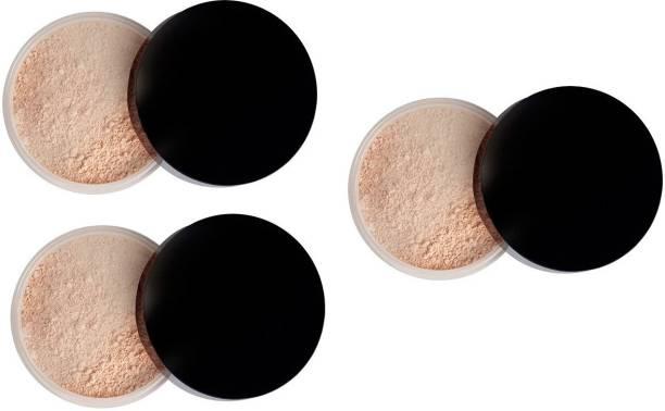 imelda Oil Control Loose Setting Powder Makeup Waterproof and Sweat Proof Loose Powder Face Makeup Matte Finish Powder Compact