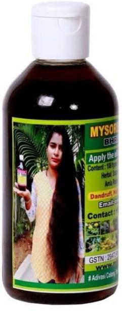 mysore kaveri herbal Brungamalaka Anti hair fall Control  Hair Oil