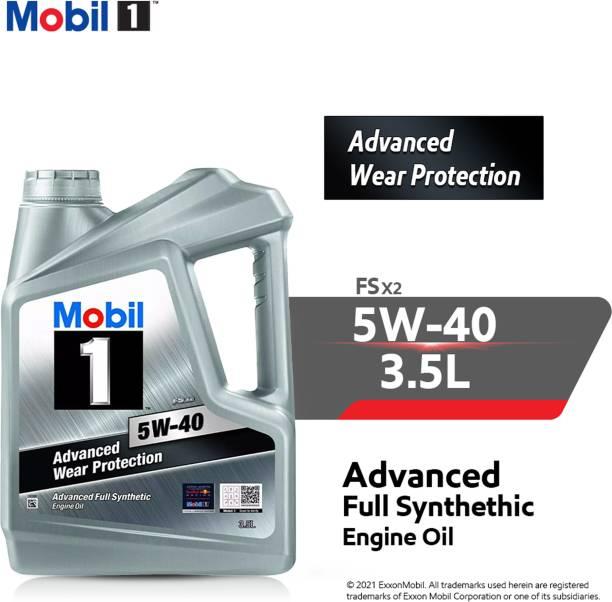 MOBIL 1 FS X2 5W-40 Advanced Wear Protection Synthetic Advance wear protection Full-Synthetic Engine Oil