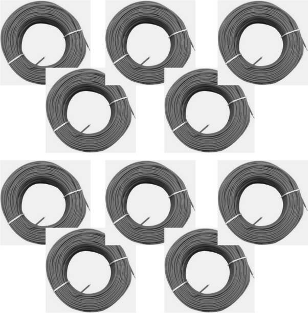 vinytics PVC Black, Black, Black, Black, Black, Black, Black, Black, Black, Black 900 m Wire