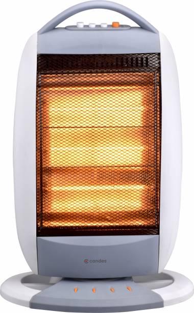 Candes New Infra3 Noiseless 1200Watt Halogen Room Heater