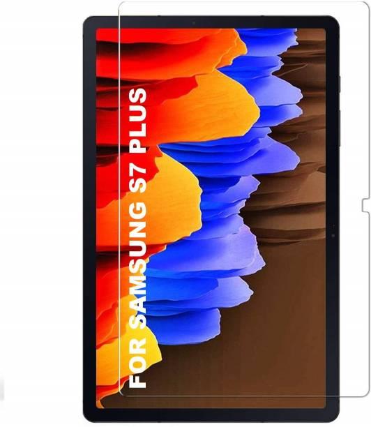 TECHSHIELD Edge To Edge Tempered Glass for Samsung Galaxy Tab S7 Plus 12.4 inch(SM-T970/SM-T976B)
