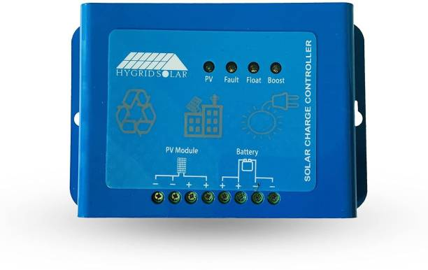 Hygridsolar Solar Charger Controller 20A, Intelligent Battery Regulator for Solar Panel Solar charge controller suitable for solar power system, solar streetlight, etc. (4) The Solar charge controller is only suitable for lead acid batteries: OPEN, AGM, GEL, not for nickel hydride, lithium, Li-ions, or other batteries. PWM Solar Charge Controller